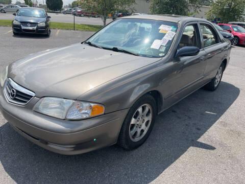 2001 Mazda 626 for sale at Diana Rico LLC in Dalton GA
