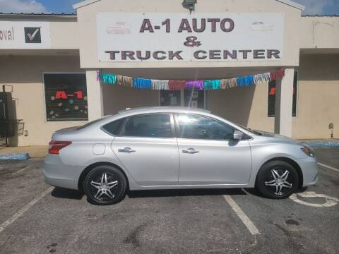 2017 Nissan Sentra for sale at A-1 AUTO AND TRUCK CENTER in Memphis TN