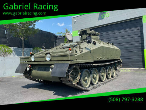1980 Alvis FV103 Spartan for sale at Gabriel Racing in Worcester MA