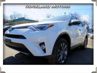 2018 Toyota RAV4 Hybrid for sale at Rockland Automall - Rockland Motors in West Nyack NY