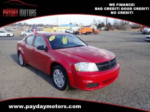 2014 Dodge Avenger for sale at Payday Motors in Wichita And Topeka KS