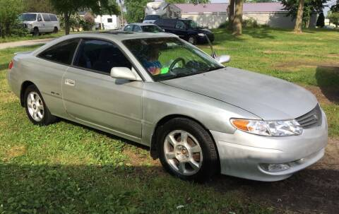 2002 Toyota Camry Solara for sale at Antique Motors in Plymouth IN