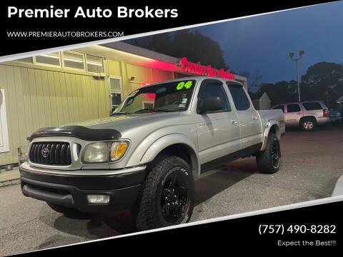 2004 Toyota Tacoma for sale at Premier Auto Brokers in Virginia Beach VA