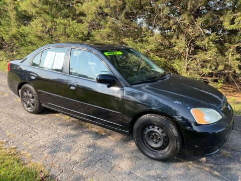 2001 Honda Civic for sale at Kansas Car Finder in Valley Falls KS