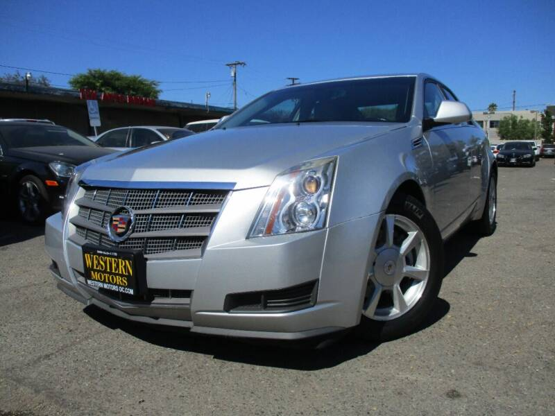 2009 Cadillac CTS for sale at WESTERN MOTORS in Santa Ana CA