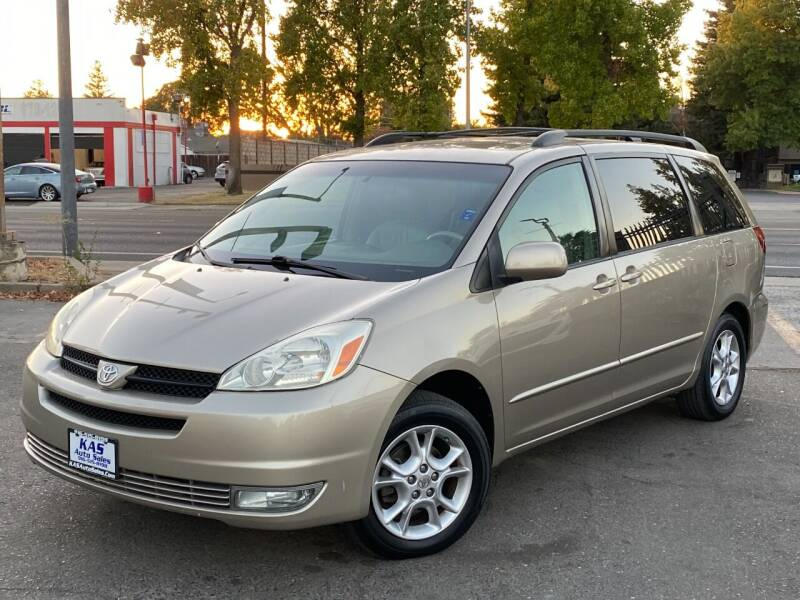 2005 Toyota Sienna for sale at KAS Auto Sales in Sacramento CA