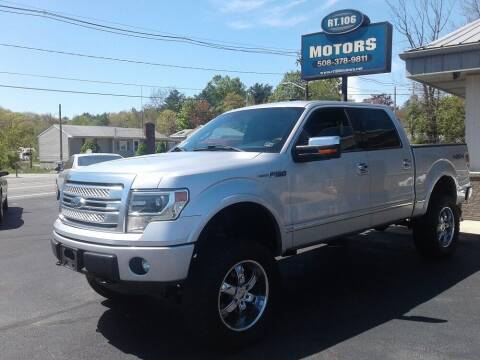2013 Ford F-150 for sale at Route 106 Motors in East Bridgewater MA