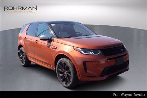 2020 Land Rover Discovery Sport for sale at BOB ROHRMAN FORT WAYNE TOYOTA in Fort Wayne IN