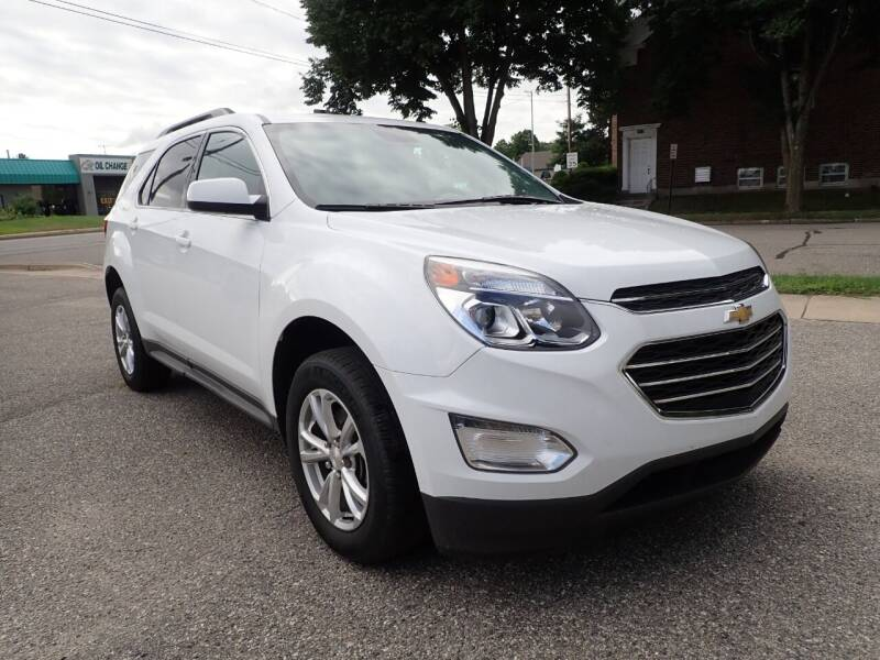 2017 Chevrolet Equinox for sale at Marvel Automotive Inc. in Big Rapids MI