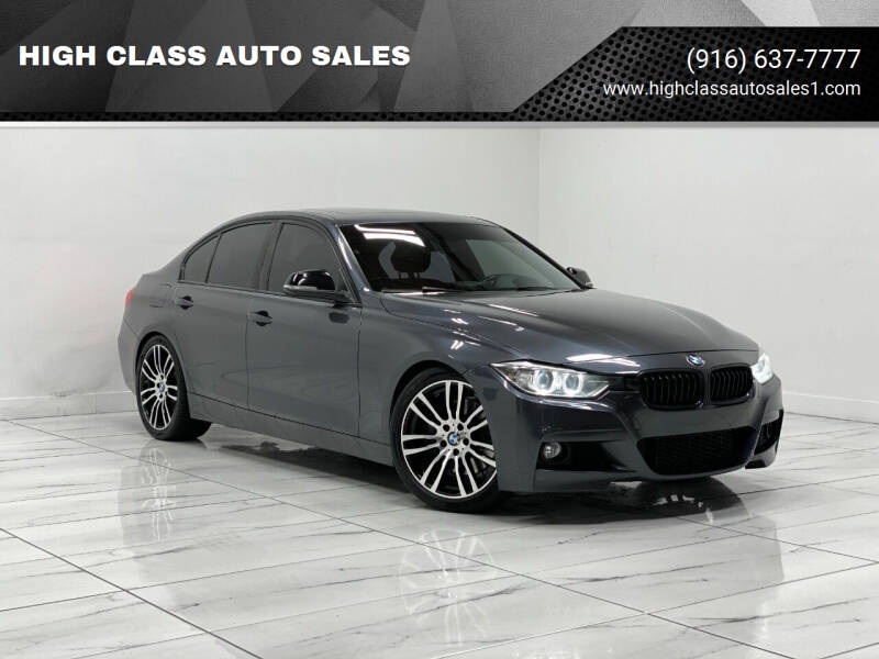 2012 BMW 3 Series for sale at HIGH CLASS AUTO SALES in Rancho Cordova CA