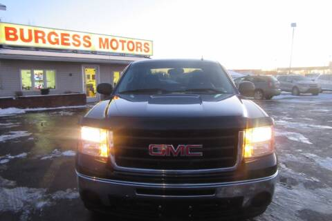 2011 GMC Sierra 1500 for sale at Burgess Motors Inc in Michigan City IN