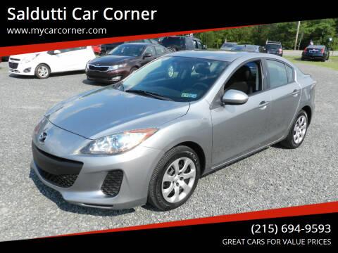 2013 Mazda MAZDA3 for sale at Saldutti Car Corner in Gilbertsville PA