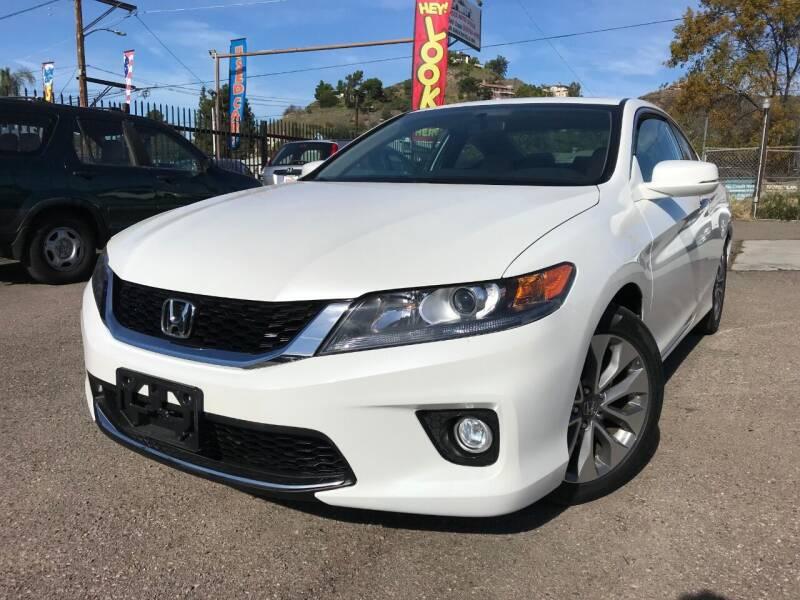 2015 Honda Accord for sale at Vtek Motorsports in El Cajon CA