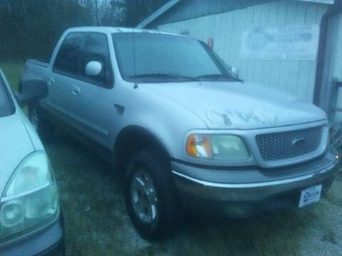 2002 Ford F-150 for sale at New Start Motors LLC - Rockville in Rockville IN
