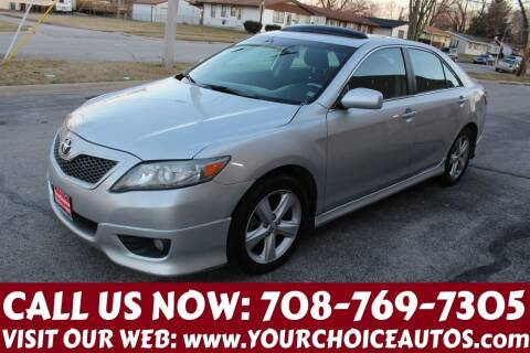 2011 Toyota Camry for sale at Your Choice Autos in Posen IL