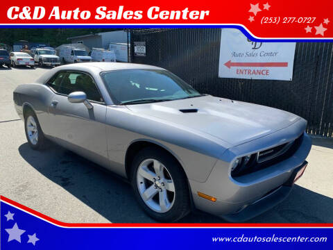 2014 Dodge Challenger for sale at C&D Auto Sales Center in Kent WA