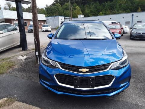 2018 Chevrolet Cruze for sale at Auto Villa in Danville VA