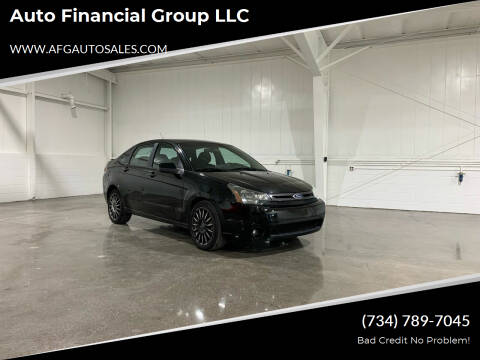 2010 Ford Focus for sale at Auto Financial Group LLC in Flat Rock MI