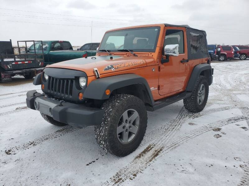 2010 Jeep Wrangler for sale at HORSEPOWER AUTO BROKERS in Fort Collins CO