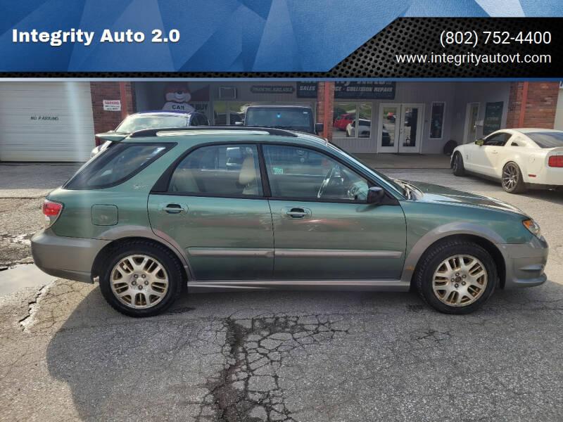 2006 Subaru Impreza for sale at Integrity Auto 2.0 in Saint Albans VT