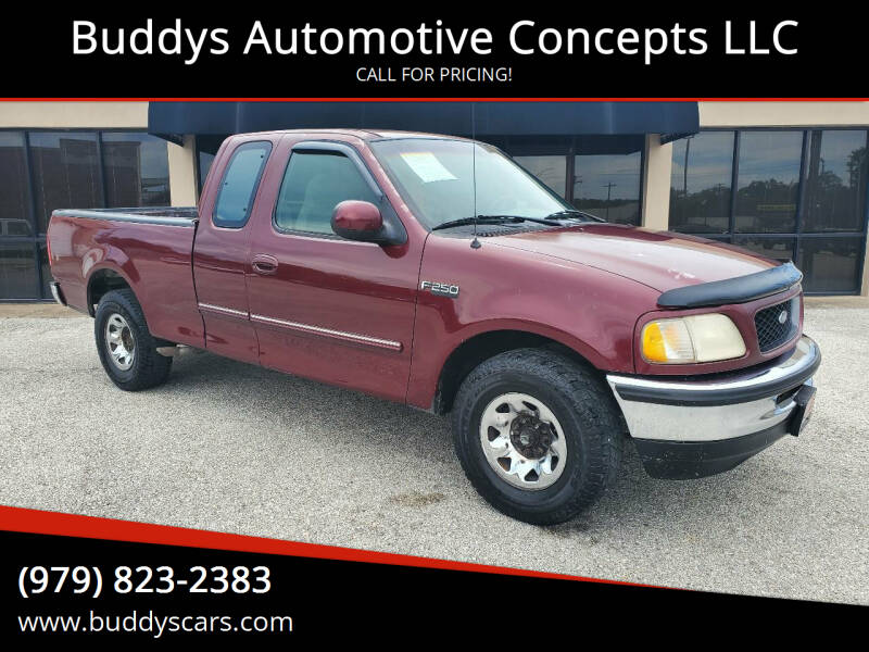 1997 Ford F-250 for sale at Buddys Automotive Concepts LLC in Bryan TX