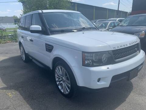 2011 Land Rover Range Rover Sport for sale at Auto Trader Wholesale Inc in Saddle Brook NJ