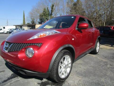 2013 Nissan JUKE for sale at Lewis Page Auto Brokers in Gainesville GA