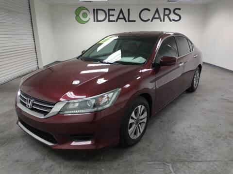 2014 Honda Accord for sale at Ideal Cars Broadway in Mesa AZ