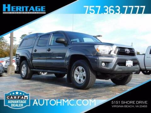 2015 Toyota Tacoma for sale at Heritage Motor Company in Virginia Beach VA