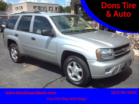 2008 Chevrolet TrailBlazer for sale at Dons Tire & Auto in Butler WI