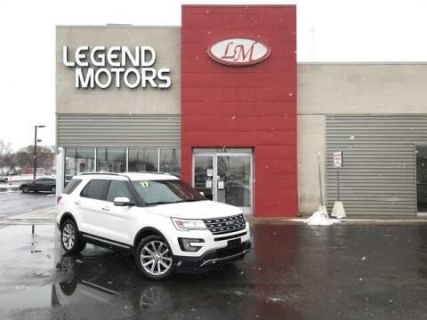 2017 Ford Explorer for sale at Legend Motors of Waterford - Legend Motors of Ferndale in Ferndale MI