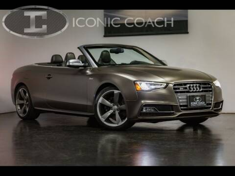 2015 Audi S5 for sale at Iconic Coach in San Diego CA