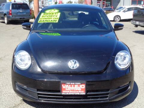 2012 Volkswagen Beetle for sale at Vallejo Motors in Vallejo CA