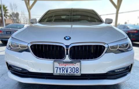 2017 BMW 5 Series for sale at Global Auto Group in Fontana CA