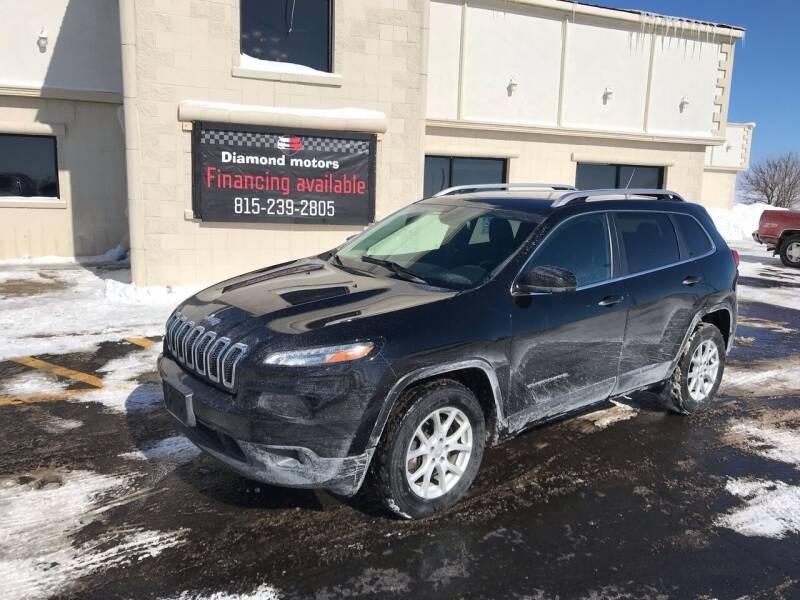 2017 Jeep Cherokee for sale at Diamond Motors in Pecatonica IL