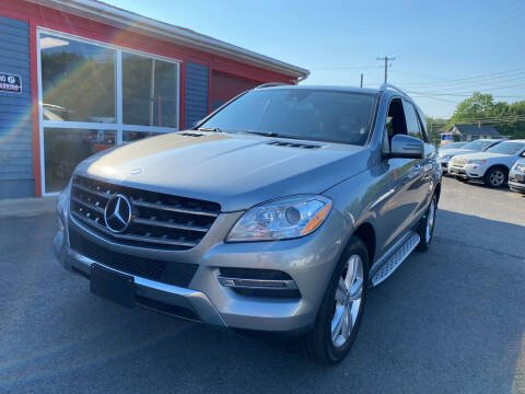 2014 Mercedes-Benz M-Class for sale at Top Quality Auto Sales in Westport MA