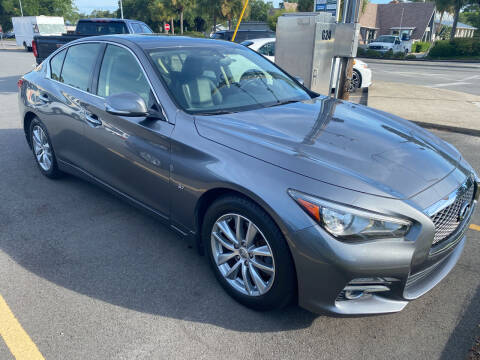 2015 Infiniti Q50 for sale at GOLD COAST IMPORT OUTLET in Saint Simons Island GA