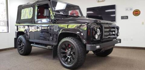 1990 Land Rover Defender for sale at Classic Car Deals in Cadillac MI