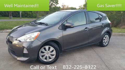 2013 Toyota Prius c for sale at Houston Auto Preowned in Houston TX