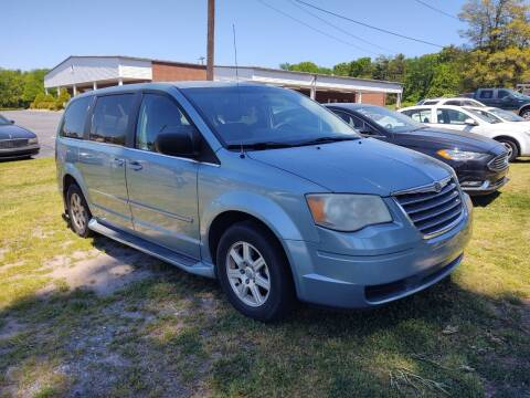 2010 Chrysler Town and Country for sale at Ray Moore Auto Sales in Graham NC