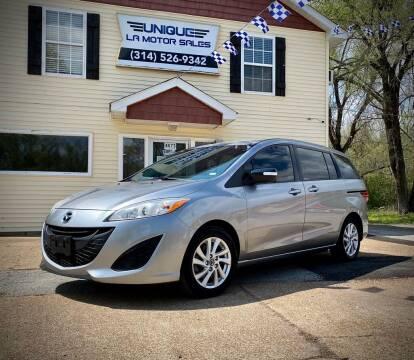 2013 Mazda MAZDA5 for sale at Unique LA Motor Sales LLC in Byrnes Mill MO