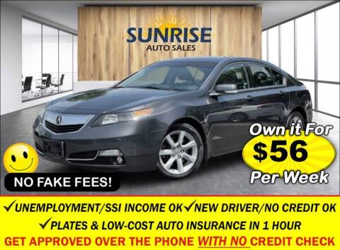 2012 Acura TL for sale at AUTOFYND in Elmont NY