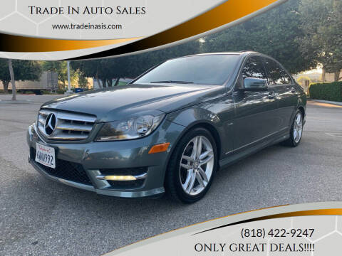2012 Mercedes-Benz C-Class for sale at Trade In Auto Sales in Van Nuys CA
