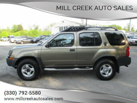 2002 Nissan Xterra for sale at Mill Creek Auto Sales in Youngstown OH