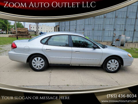 2004 Ford Taurus for sale at Zoom Auto Outlet LLC in Thorntown IN