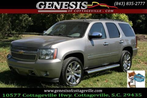 2012 Chevrolet Tahoe for sale at Genesis Of Cottageville in Cottageville SC