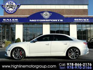 2018 Audi S4 for sale at Highline Group Motorsports in Lowell MA
