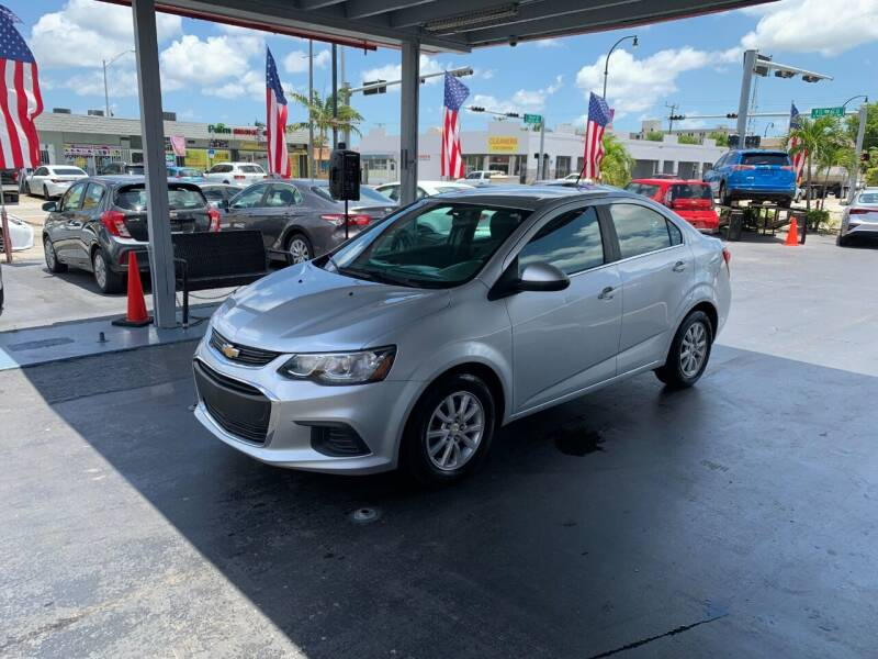 2017 Chevrolet Sonic for sale at American Auto Sales in Hialeah FL