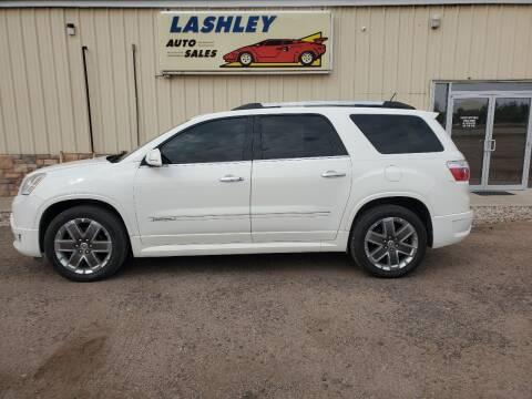 2012 GMC Acadia for sale at Lashley Auto Sales in Mitchell NE