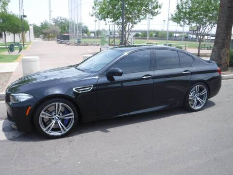 2014 BMW M5 for sale at J & E Auto Sales in Phoenix AZ